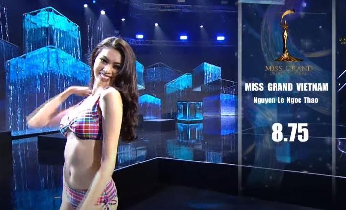 Ngọc Thảo xin lỗi vì phần thi 8.75 chung kết Miss Grand-3