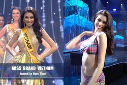 Ngọc Thảo xin lỗi vì phần thi 8.75 chung kết Miss Grand
