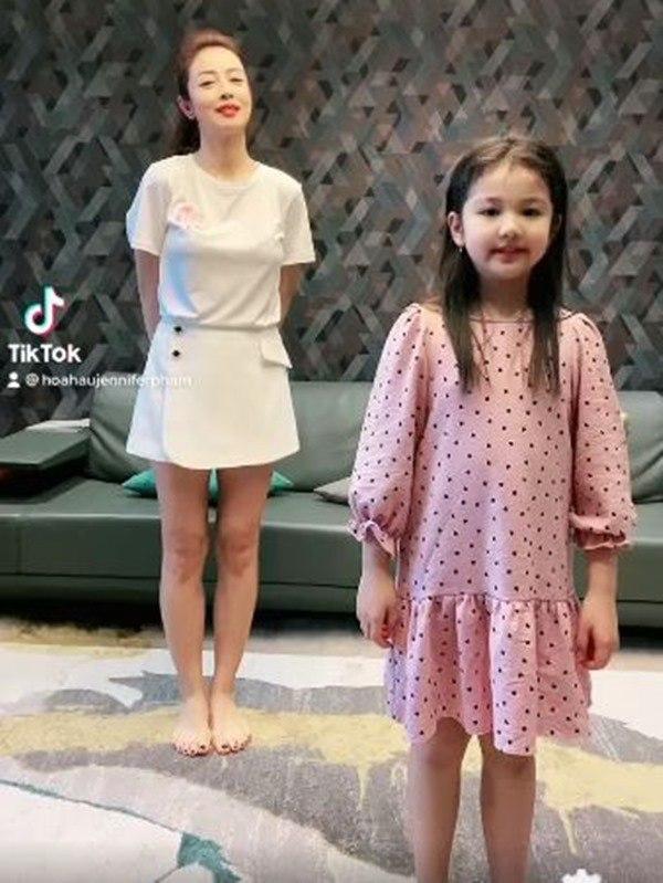 Ngoại hình phổng phao, xinh xắn của con gái Jennifer Phạm-3
