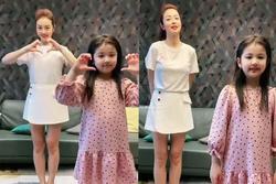 Ngoại hình phổng phao, xinh xắn của con gái Jennifer Phạm