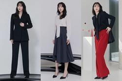 Chị đẹp Lee Ji Ah 'Penthouse' lên đồ công sở đơn giản mà thanh lịch