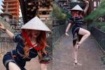 Hot girl sống ảo nơi cửa chùa tại Trung Quốc bị xóa tài khoản-3