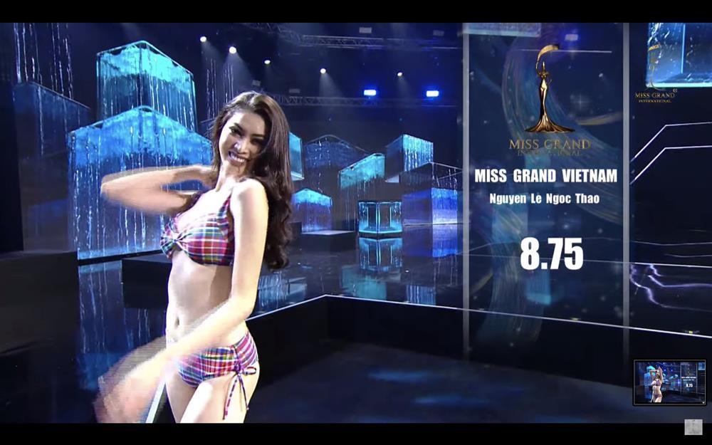 Ngọc Thảo đăng quang Á hậu 1 Miss Grand trong clip hậu trường-2