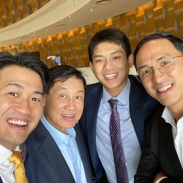 Bố chồng tỷ phú của Tăng Thanh Hà phong độ tuổi 70-1