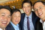 Bố chồng tỷ phú của Tăng Thanh Hà phong độ tuổi 70