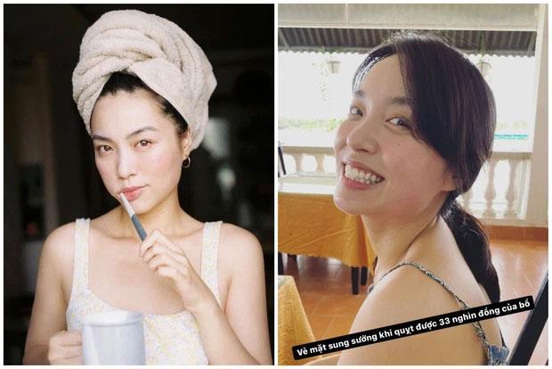 Cơ trưởng Quang Đạt để lộ mặt mộc bạn gái hot girl khác xa ảnh mạng-3