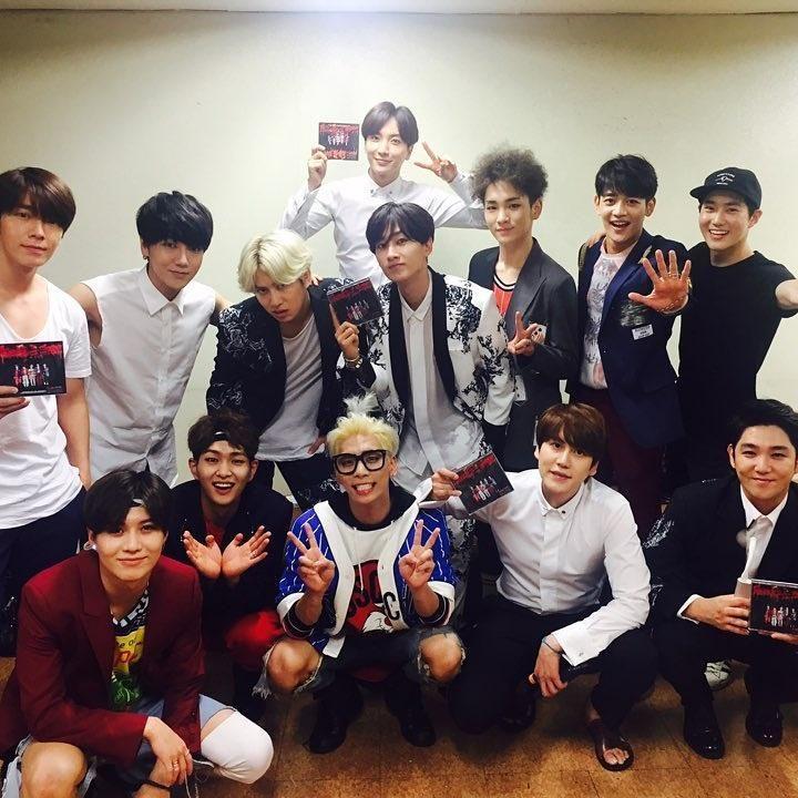 Super Junior đi quảng bá con đẻ nhưng lại phải nhảy vũ đạo con người ta-1