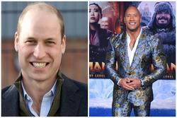 Hoàng tử William 'hói đầu hấp dẫn nhất thế giới', 'The Rock' yêu cầu kiểm tra lại