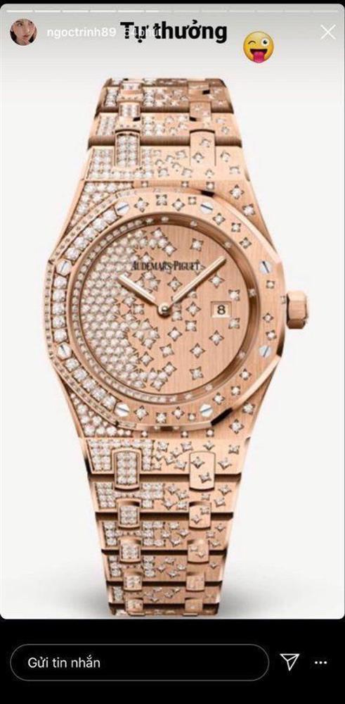 Ngắm bộ sưu tập đồng hồ 13 tỷ của Ngọc Trinh trước khi bị trộm xơi-2