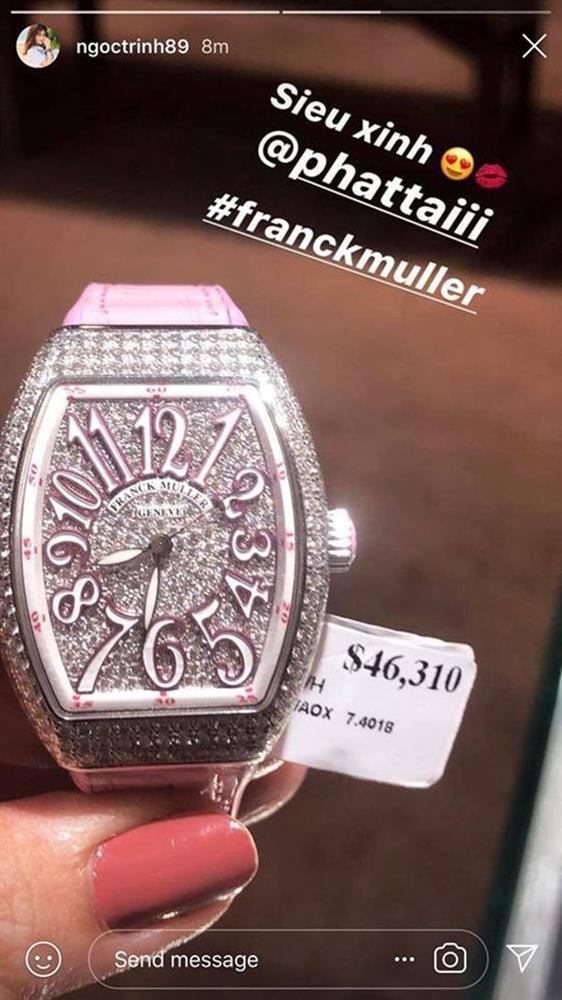 Ngắm bộ sưu tập đồng hồ 13 tỷ của Ngọc Trinh trước khi bị trộm xơi-11