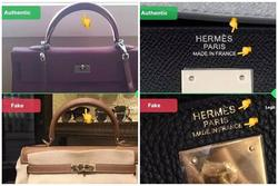 CEO chỉ rõ cách phân biệt túi Hermes thật giả không cần bill