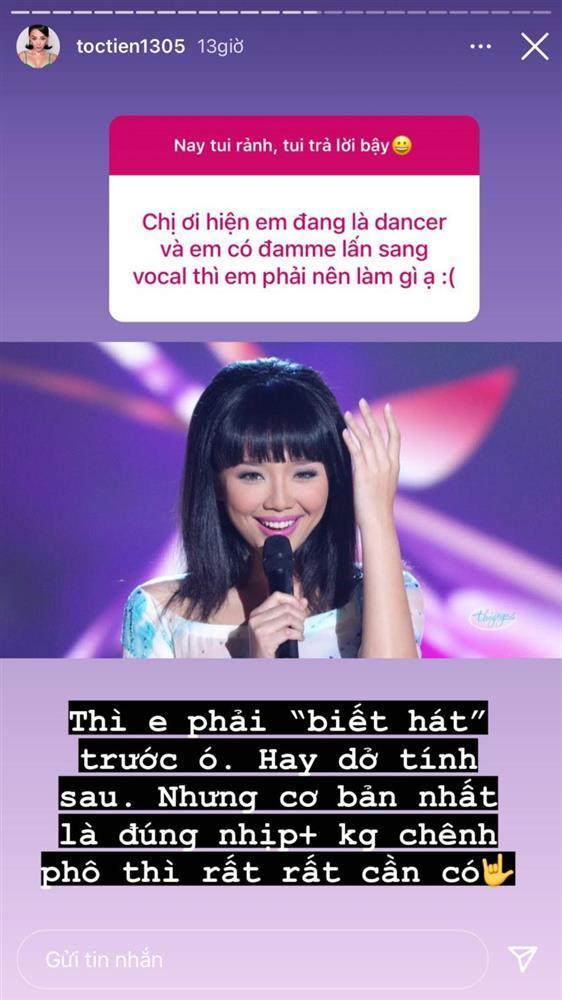 Tóc Tiên: Muốn làm ca sĩ, ít nhất hát phải đúng nhịp-2