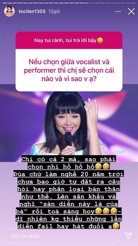 Tóc Tiên: Muốn làm ca sĩ, ít nhất hát phải đúng nhịp-3