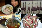 Những món ăn gây tranh cãi vì khâu chế biến quá kinh dị, 'tàn nhẫn'