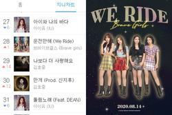 Brave Girls 'thời cản không kịp' khi bài hát cũ cũng len lỏi vào BXH lớn