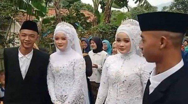 Những cặp song sinh cưới anh em song sinh, thường xuyên nhận nhầm vợ-1
