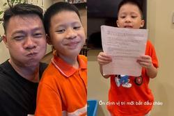 BTV Quang Minh toát mồ hôi khi con trai được giao trọng trách lớn