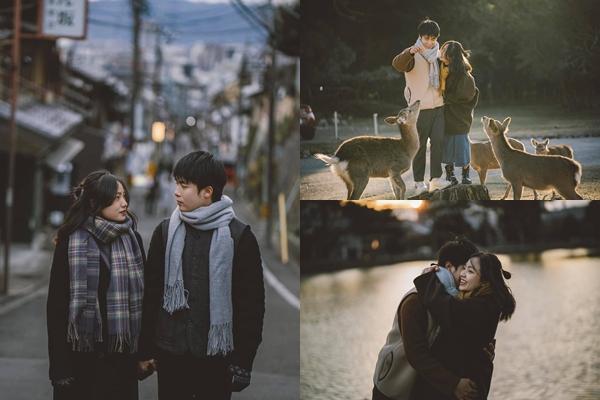 Cặp du học sinh Việt tại Tokyo chớp bộ ảnh cưới tuyệt đẹp dưới cơn mưa-12