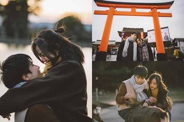 Cặp du học sinh Việt tại Tokyo chớp bộ ảnh cưới tuyệt đẹp dưới cơn mưa-13