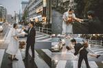 Cặp du học sinh Việt tại Tokyo 'chớp' bộ ảnh cưới tuyệt đẹp dưới cơn mưa