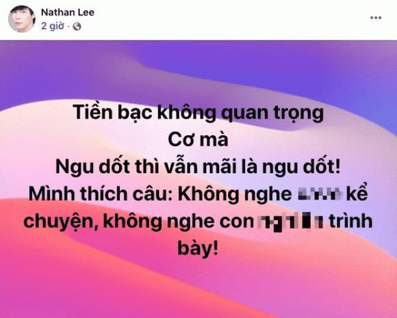 Nathan Lee chỉ đích danh Ngọc Trinh: Tao cười vào mặt mày-2