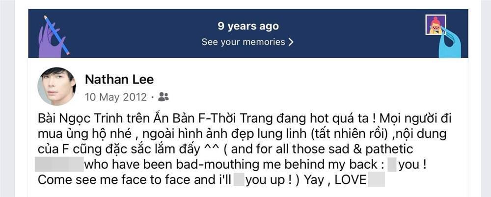 Nathan Lee chỉ đích danh Ngọc Trinh: Tao cười vào mặt mày-7