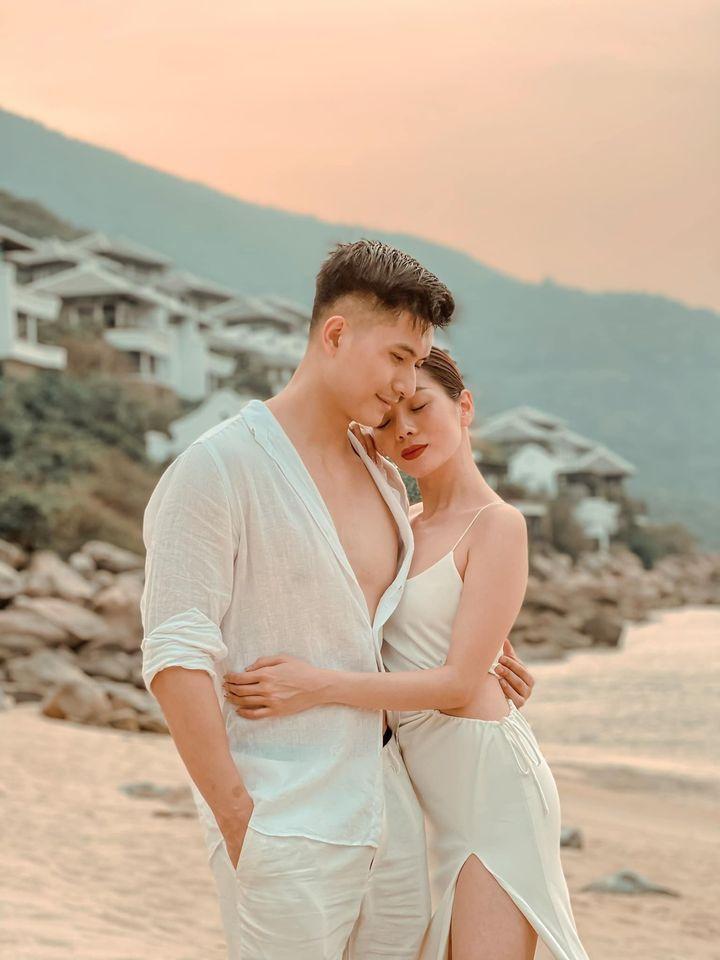 Sinh nhật Lệ Quyên trên bãi biển: Lâm Bảo Châu chiếm spotlight-1