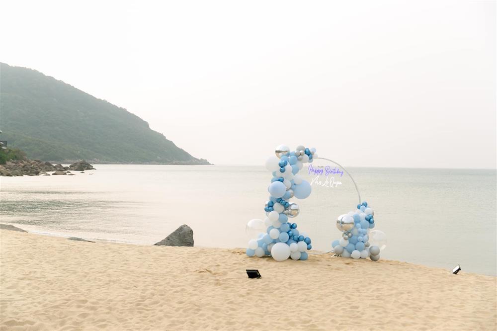 Sinh nhật Lệ Quyên trên bãi biển: Lâm Bảo Châu chiếm spotlight-6