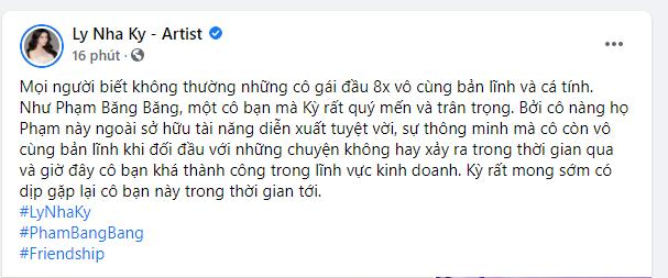 Sau Xa Thi Mạn, Lý Nhã Kỳ hé lộ tình bạn với Phạm Băng Băng-2