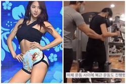 Bài tập gym giúp Soyou (SISTAR) sở hữu body nóng bỏng