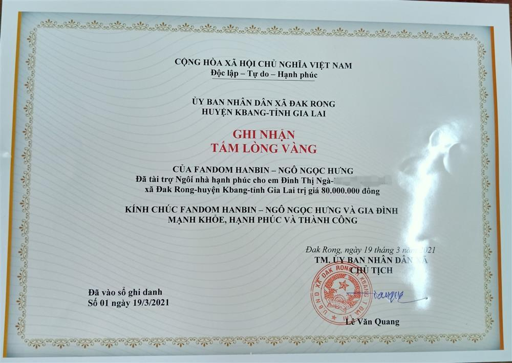Hanbin sẽ phổng mũi tự hào khi fandom ủng hộ hơn 200 triệu cho việc thiện nguyện-2
