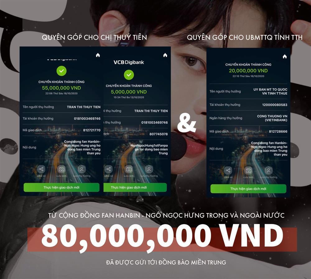 Chờ thần tượng debut, fandom Hanbin ủng hộ 160 triệu làm từ thiện-11