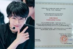 Chờ thần tượng debut, fandom Hanbin ủng hộ 160 triệu làm từ thiện