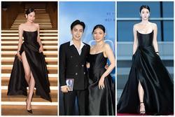 Cùng mặc váy 100 triệu, Thu Thủy xấu hơn hẳn vì bụng 'bé bự'