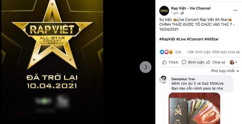 Rap Việt All-Star Concert công bố lịch diễn, fan tranh nhau pass vé vì quá mệt mỏi-2