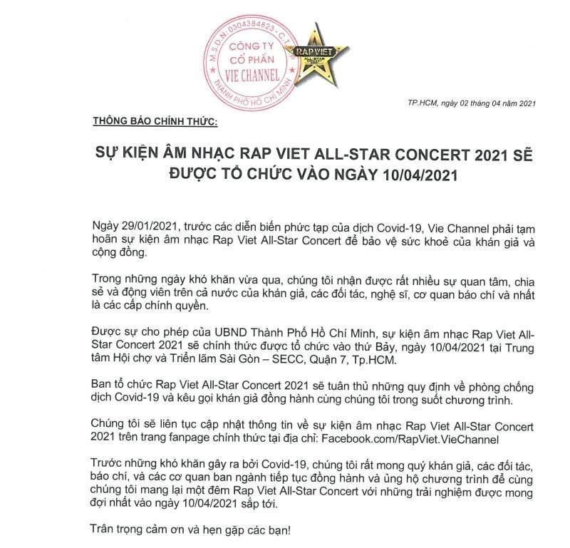 Rap Việt All-Star Concert công bố lịch diễn, fan tranh nhau pass vé vì quá mệt mỏi-3