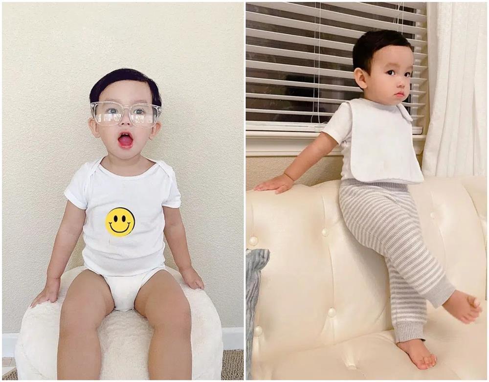 Con trai Phạm Hương được mẹ đầu tư như một fashionista nhí-3