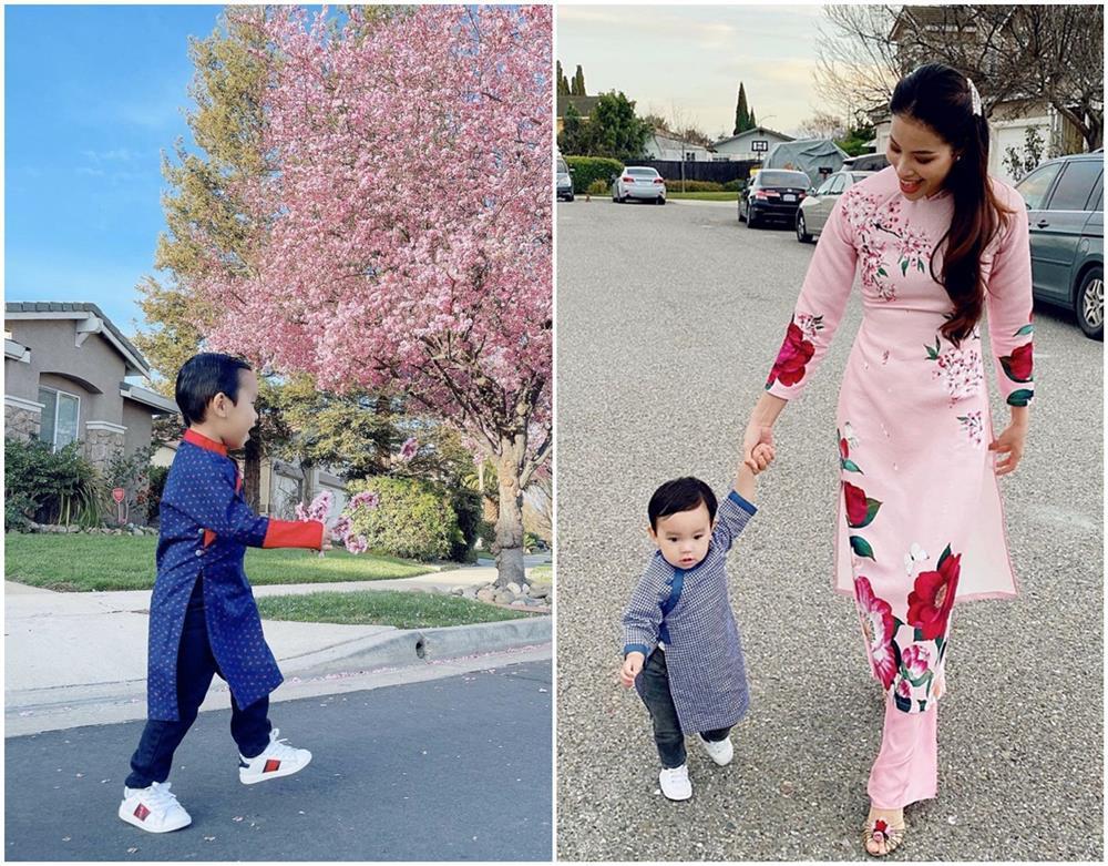 Con trai Phạm Hương được mẹ đầu tư như một fashionista nhí-11