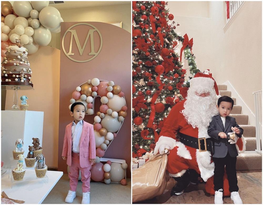 Con trai Phạm Hương được mẹ đầu tư như một fashionista nhí-6