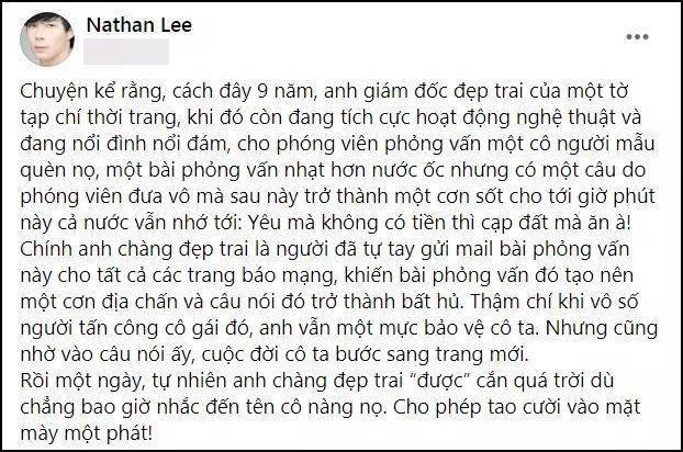Nathan Lee nhận vơ có công đầu giúp Ngọc Trinh nổi tiếng?-2