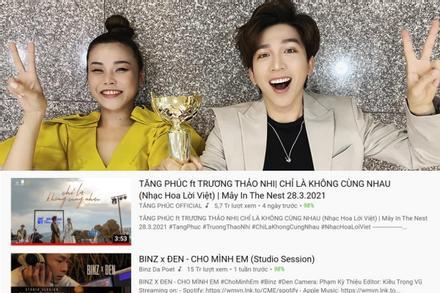 Bộ đôi 9X vượt mặt Binz và Đen Vâu giành Top 1 Trending YouTube là ai?
