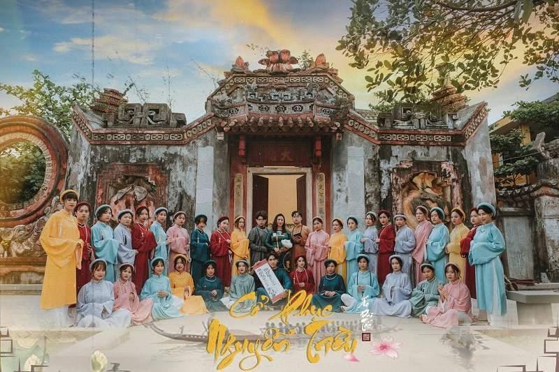 Concept cổ phục Việt lên ngôi: Lại thêm bộ ảnh kỷ yếu đẹp nức lòng-1
