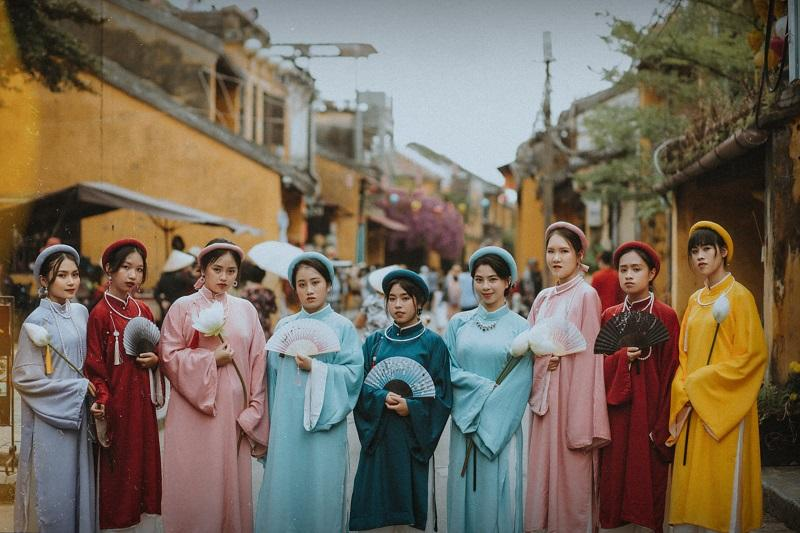 Concept cổ phục Việt lên ngôi: Lại thêm bộ ảnh kỷ yếu đẹp nức lòng-3