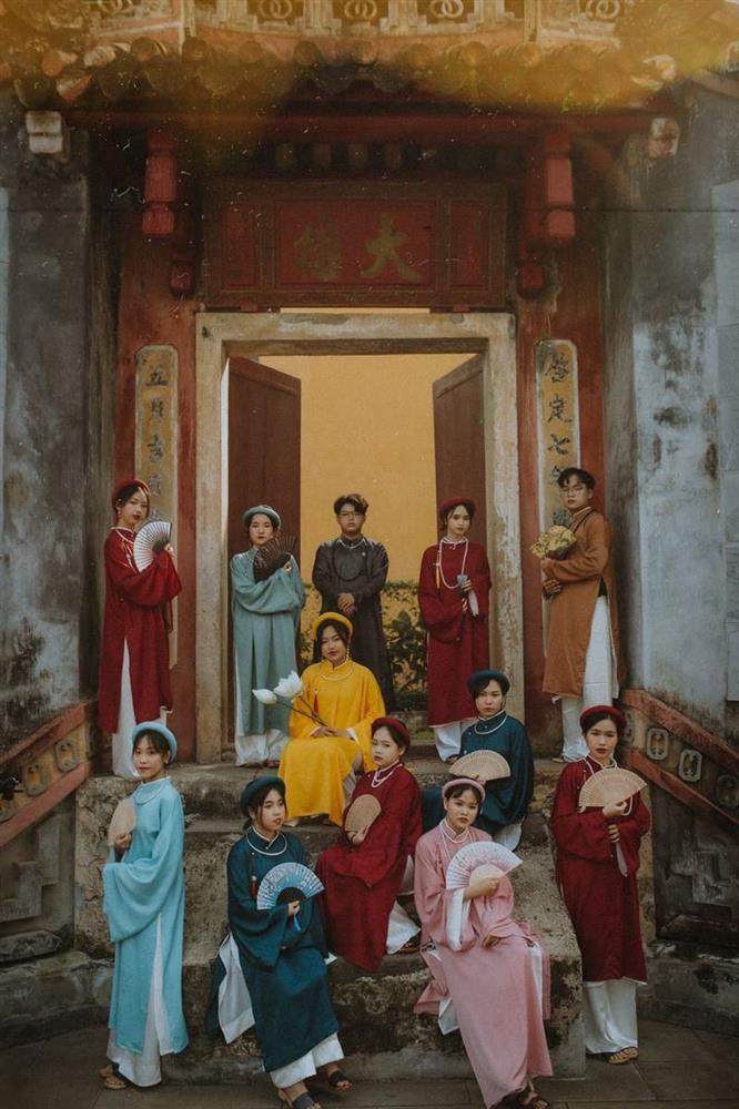Concept cổ phục Việt lên ngôi: Lại thêm bộ ảnh kỷ yếu đẹp nức lòng-4