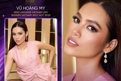 Hoàng My tuyên bố thi Hoa hậu Hoàn vũ Việt Nam 2021 gây xôn xao