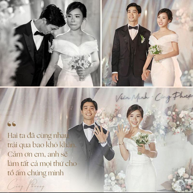 Công Phượng tiết lộ cuộc sống sau đám cưới với Viên Minh-1