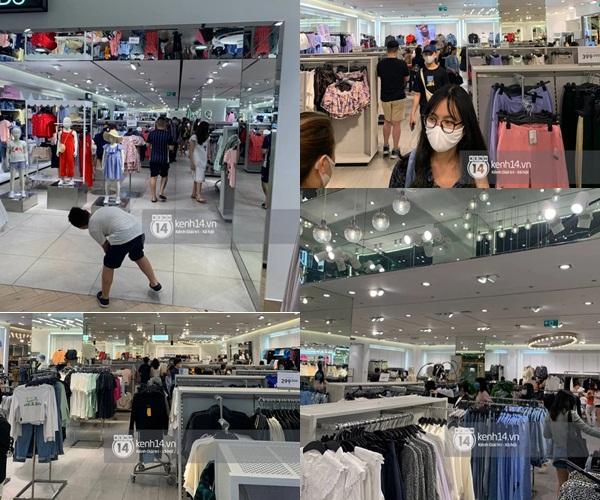 Loạt store H&M Việt Nam lúc này: Hà Nội khá vắng vẻ, TP.HCM vẫn đông đúc-4