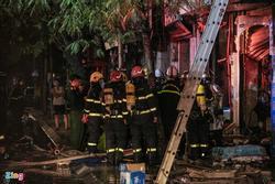 4 người thiệt mạng trong vụ cháy nhà ở Hà Nội