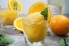Làm nước cam chanh bạc hà giải nhiệt mùa hè