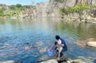 Đàn cá trê hàng nghìn con hút khách du lịch đến Thoại Sơn